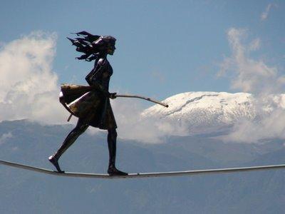 Celina, la equilibrista